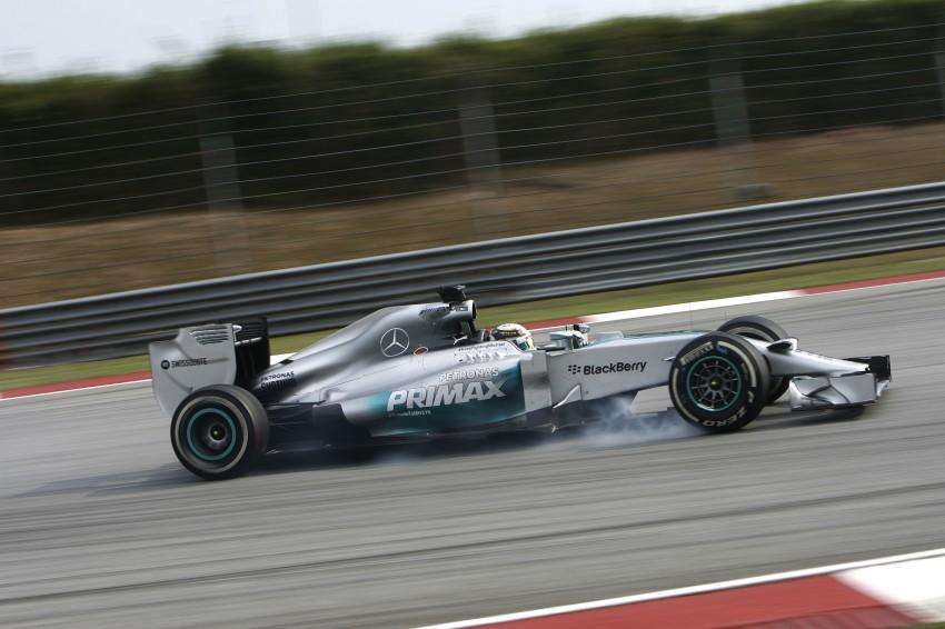 2014 Malaysian GP – Mercedes AMG Petronas wins big Image #238216