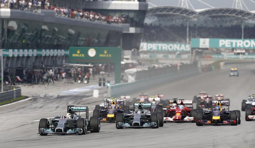 2014 Malaysian GP – Mercedes AMG Petronas wins big Image #238219
