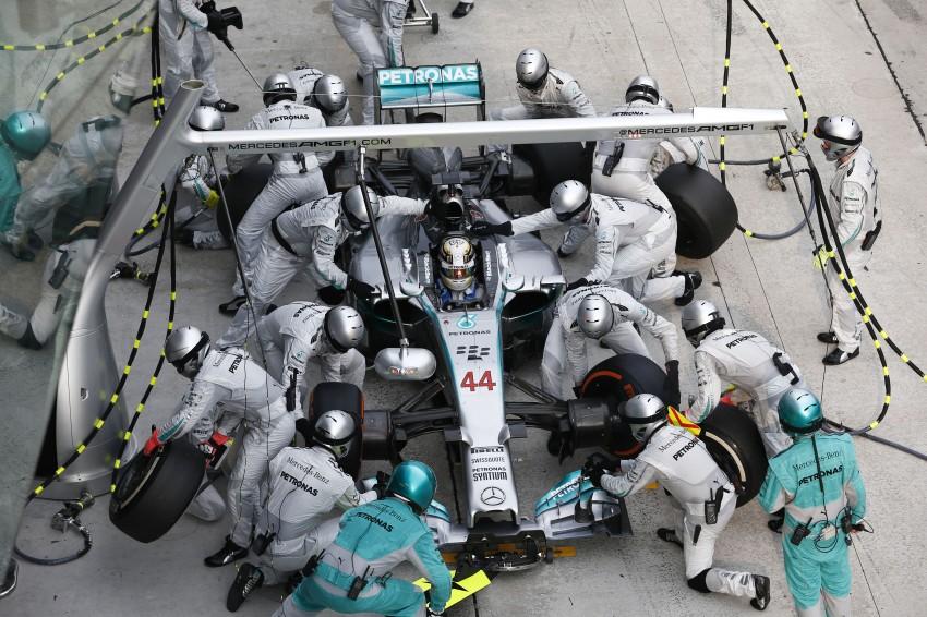 2014 Malaysian GP – Mercedes AMG Petronas wins big Image #238221
