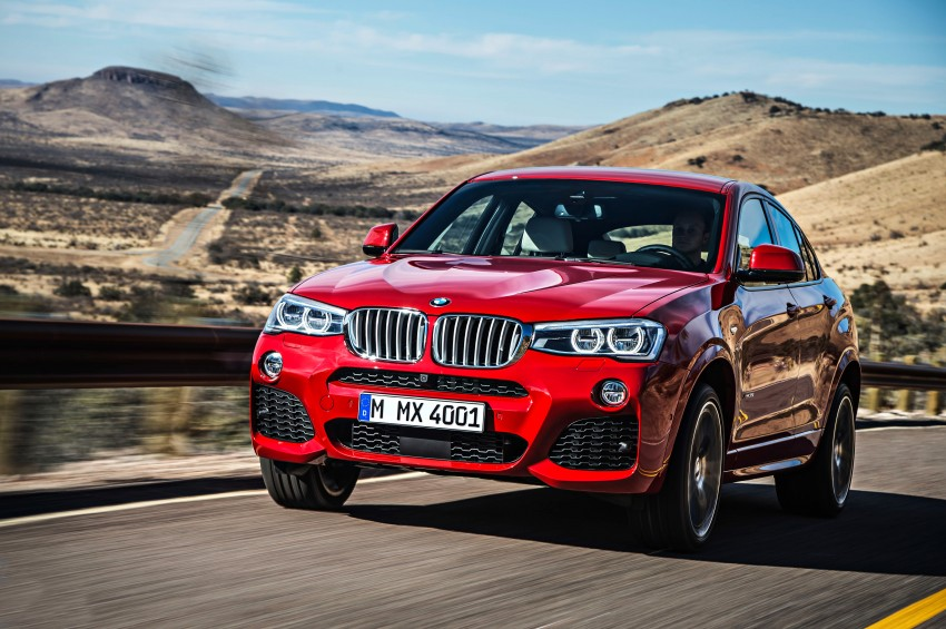 F26 BMW X4 unveiled – X3 gets the 'coupe' treatment Image #233636