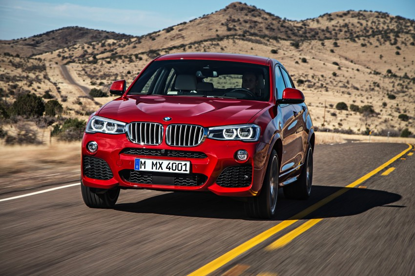 F26 BMW X4 unveiled – X3 gets the 'coupe' treatment Image #233637