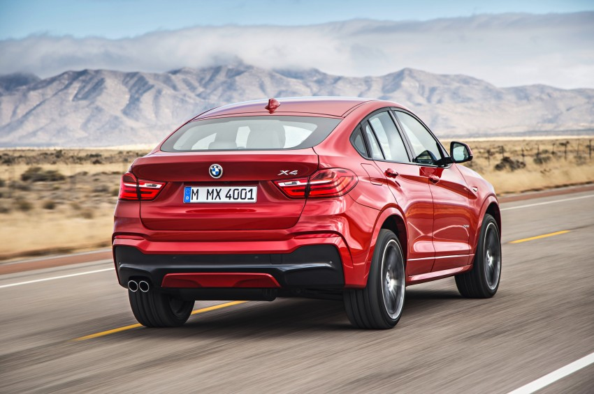 F26 BMW X4 unveiled – X3 gets the 'coupe' treatment Image #233638