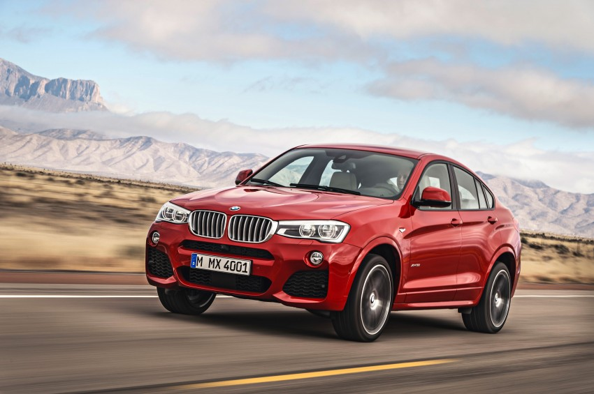 F26 BMW X4 unveiled – X3 gets the 'coupe' treatment Image #233639