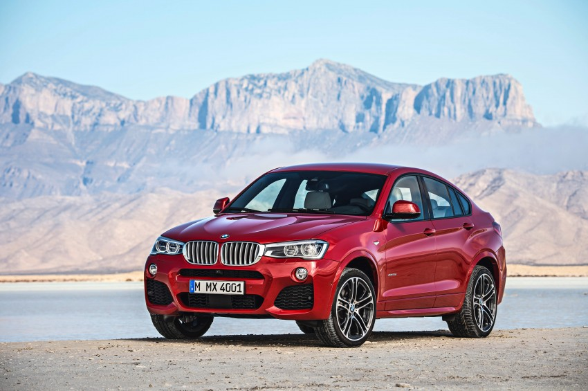 F26 BMW X4 unveiled – X3 gets the 'coupe' treatment Image #233640