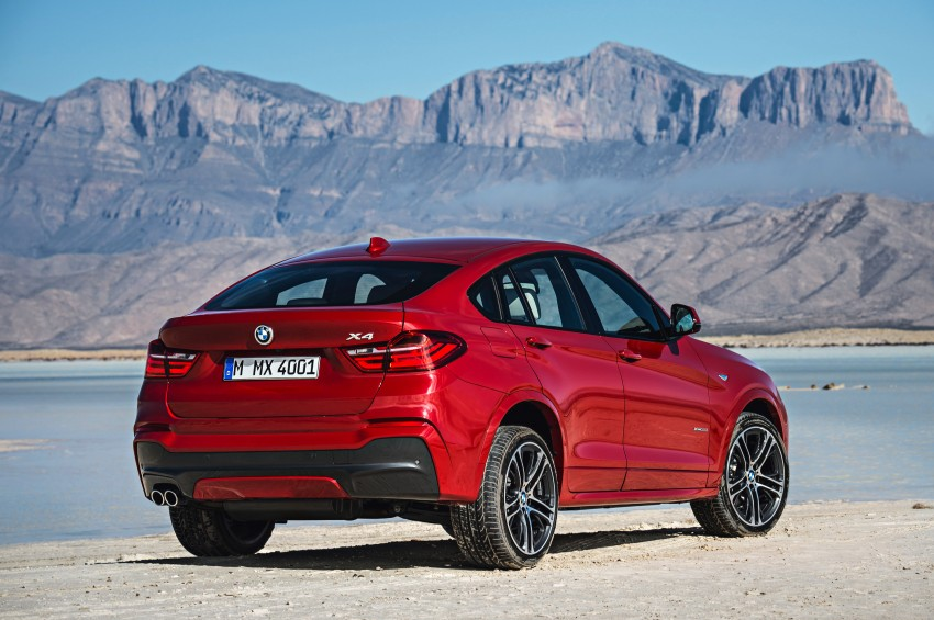 F26 BMW X4 unveiled – X3 gets the 'coupe' treatment Image #233641
