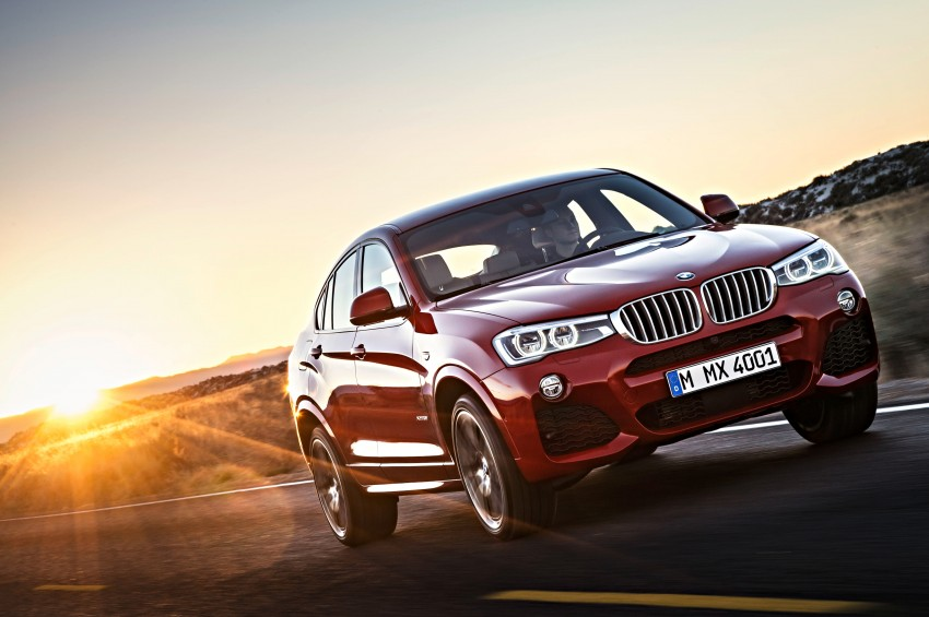 F26 BMW X4 unveiled – X3 gets the 'coupe' treatment Image #233642