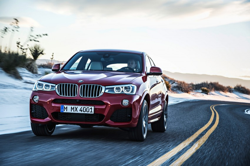 F26 BMW X4 unveiled – X3 gets the 'coupe' treatment Image #233645