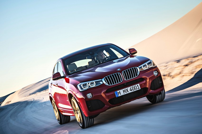 F26 BMW X4 unveiled – X3 gets the 'coupe' treatment Image #233647