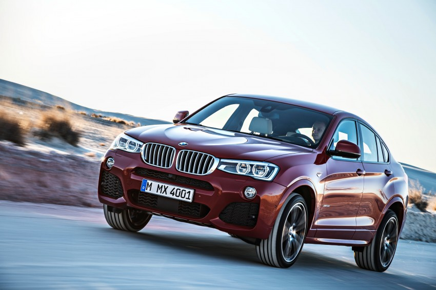 F26 BMW X4 unveiled – X3 gets the 'coupe' treatment Image #233648
