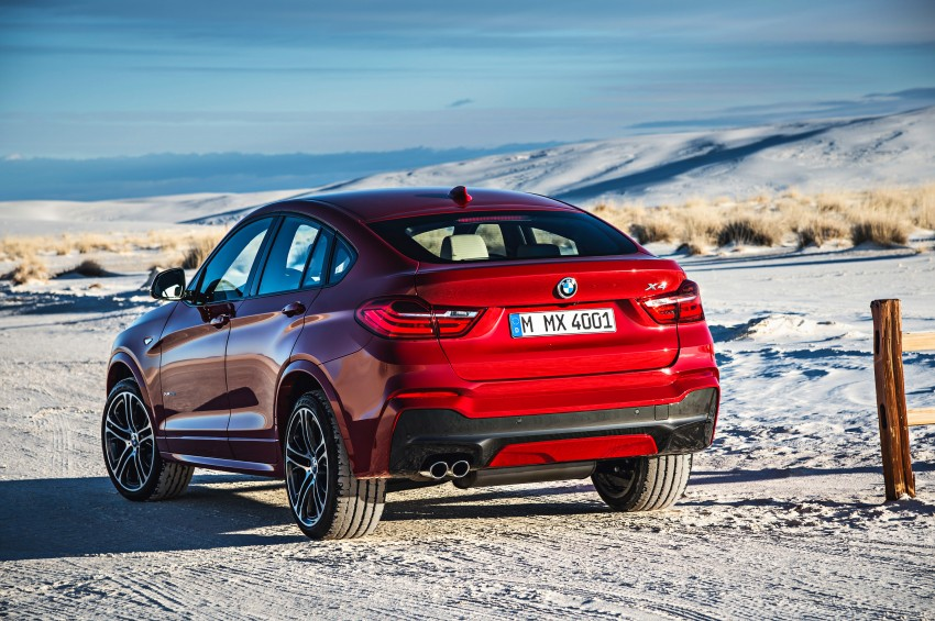 F26 BMW X4 unveiled – X3 gets the 'coupe' treatment Image #233649