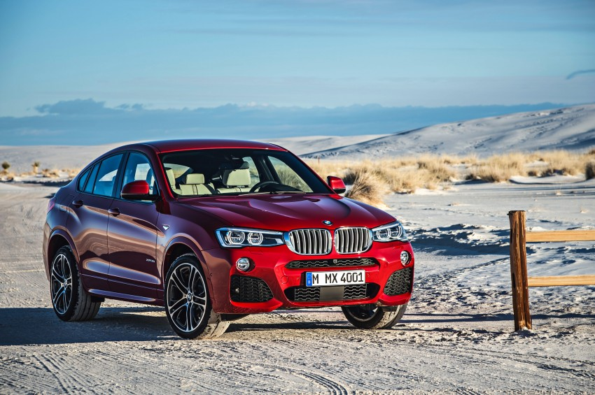 F26 BMW X4 unveiled – X3 gets the 'coupe' treatment Image #233650