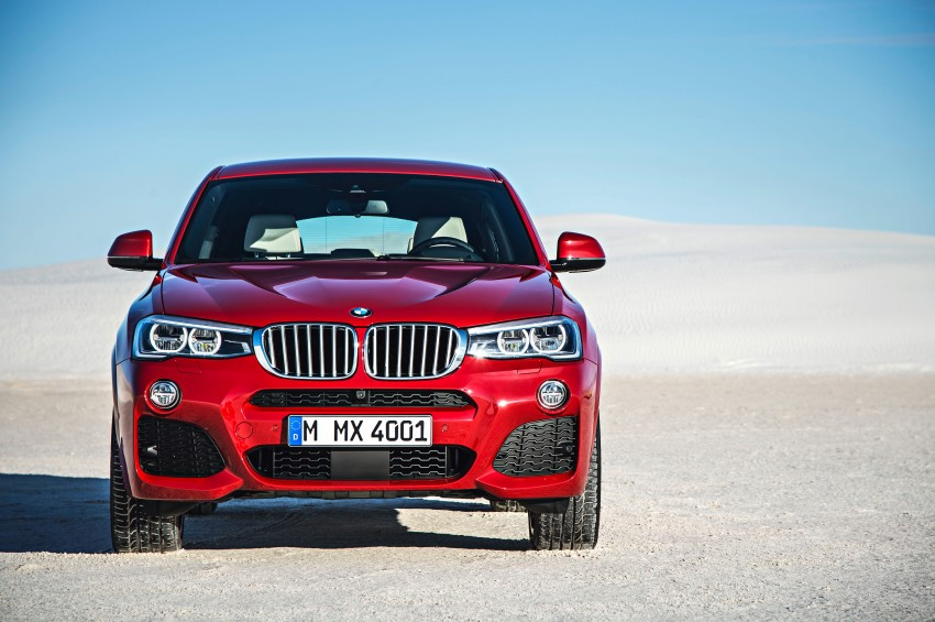 F26 BMW X4 unveiled – X3 gets the 'coupe' treatment Image #233654