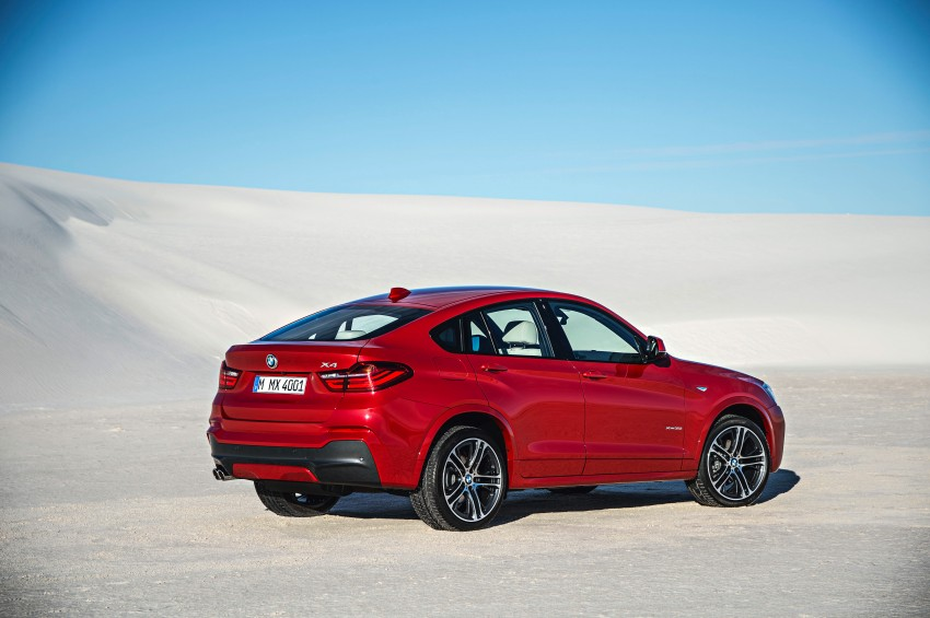 F26 BMW X4 unveiled – X3 gets the 'coupe' treatment Image #233655