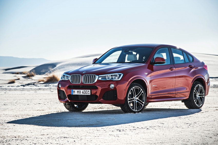 F26 BMW X4 unveiled – X3 gets the 'coupe' treatment Image #233657