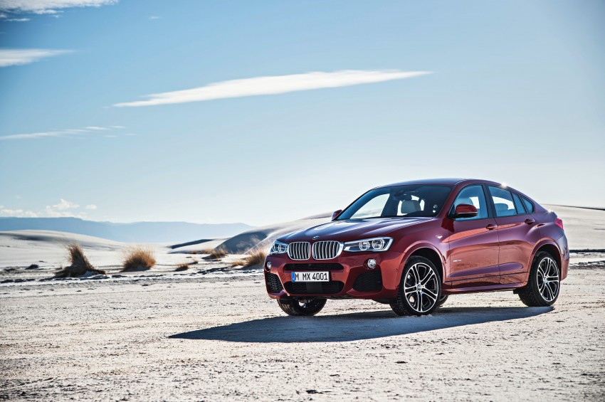 F26 BMW X4 unveiled – X3 gets the 'coupe' treatment Image #233658