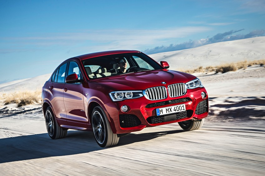 F26 BMW X4 unveiled – X3 gets the 'coupe' treatment Image #233659