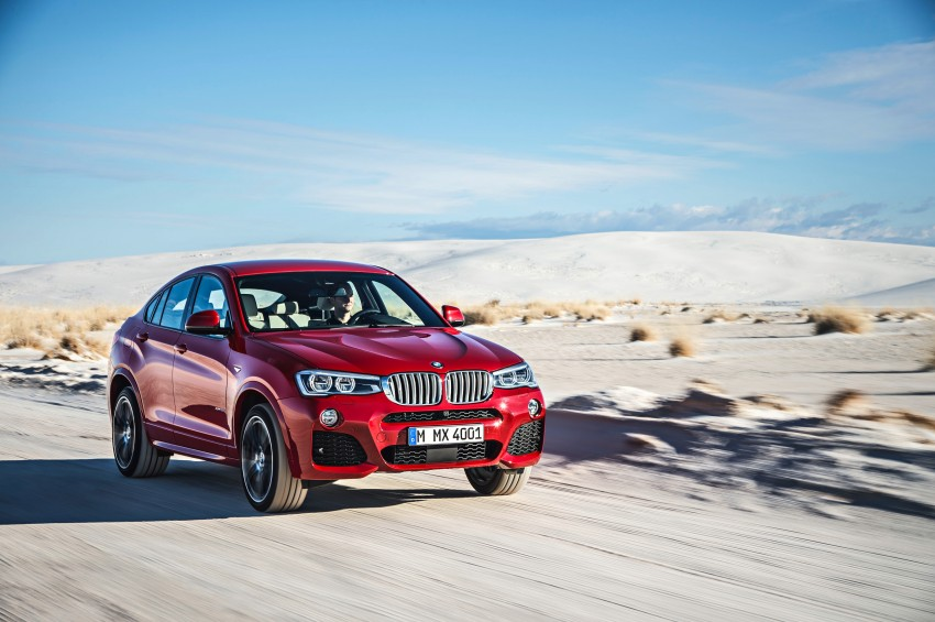 F26 BMW X4 unveiled – X3 gets the 'coupe' treatment Image #233660