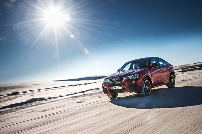 F26 BMW X4 unveiled – X3 gets the 'coupe' treatment Image #233661