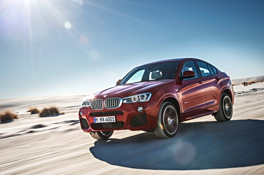 F26 BMW X4 unveiled – X3 gets the 'coupe' treatment Image #233662