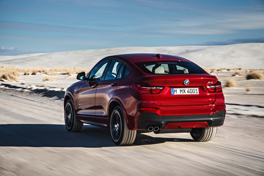 F26 BMW X4 unveiled – X3 gets the 'coupe' treatment Image #233663