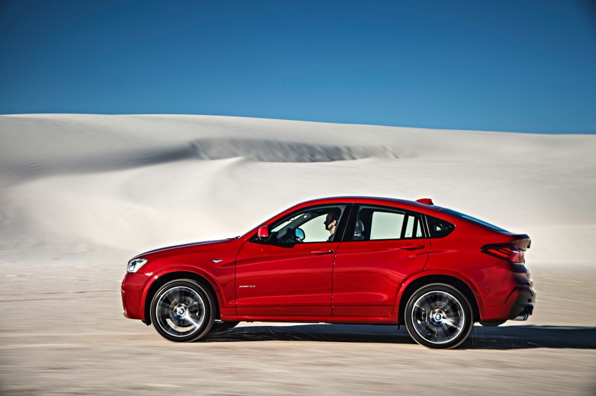F26 BMW X4 unveiled – X3 gets the 'coupe' treatment Image #233664