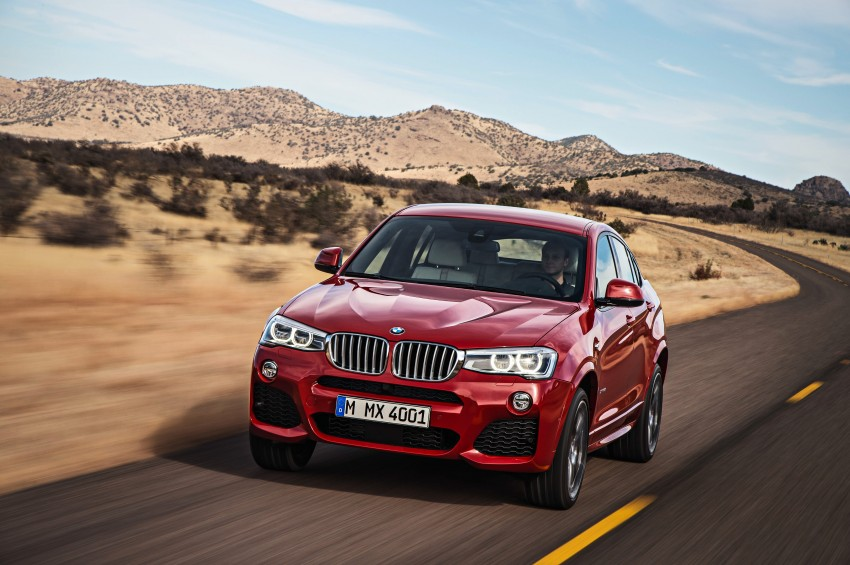F26 BMW X4 unveiled – X3 gets the 'coupe' treatment Image #233665