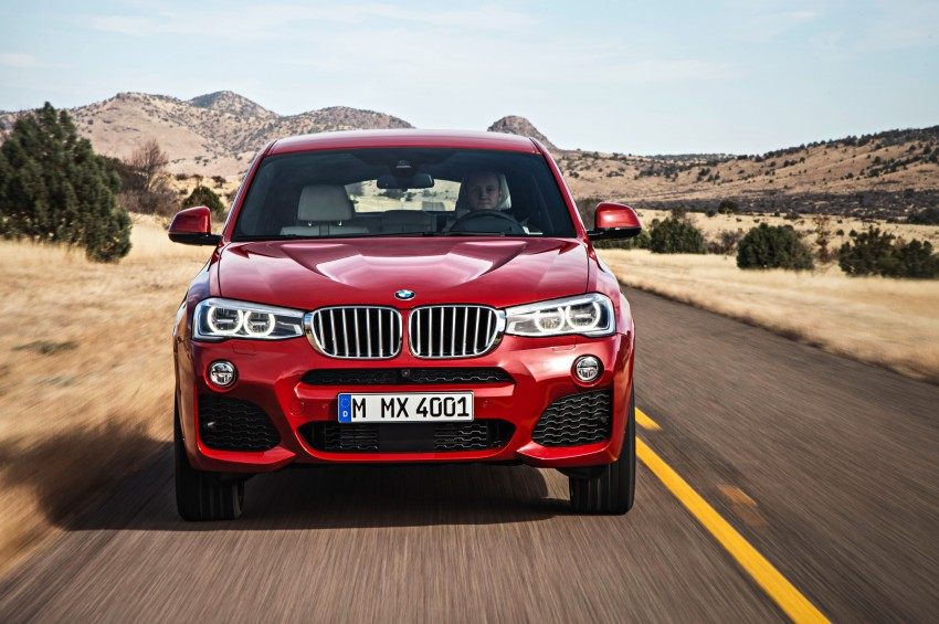 F26 BMW X4 unveiled – X3 gets the 'coupe' treatment Image #233666