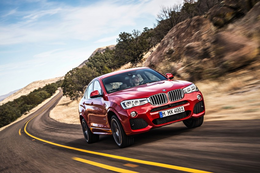 F26 BMW X4 unveiled – X3 gets the 'coupe' treatment Image #233667