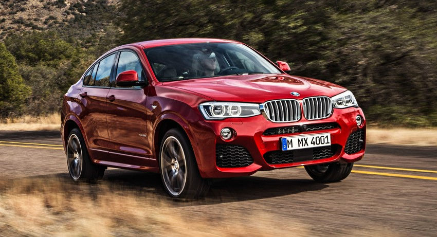 F26 BMW X4 unveiled – X3 gets the 'coupe' treatment Image #233668