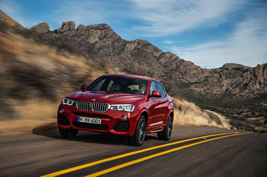F26 BMW X4 unveiled – X3 gets the 'coupe' treatment Image #233669