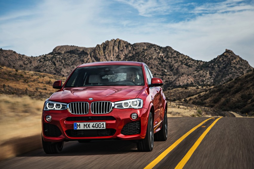 F26 BMW X4 unveiled – X3 gets the 'coupe' treatment Image #233670