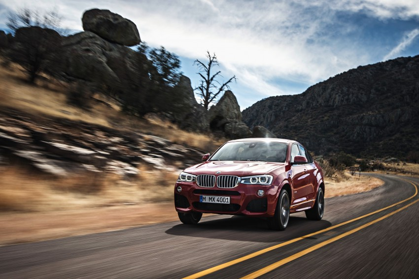 F26 BMW X4 unveiled – X3 gets the 'coupe' treatment Image #233672