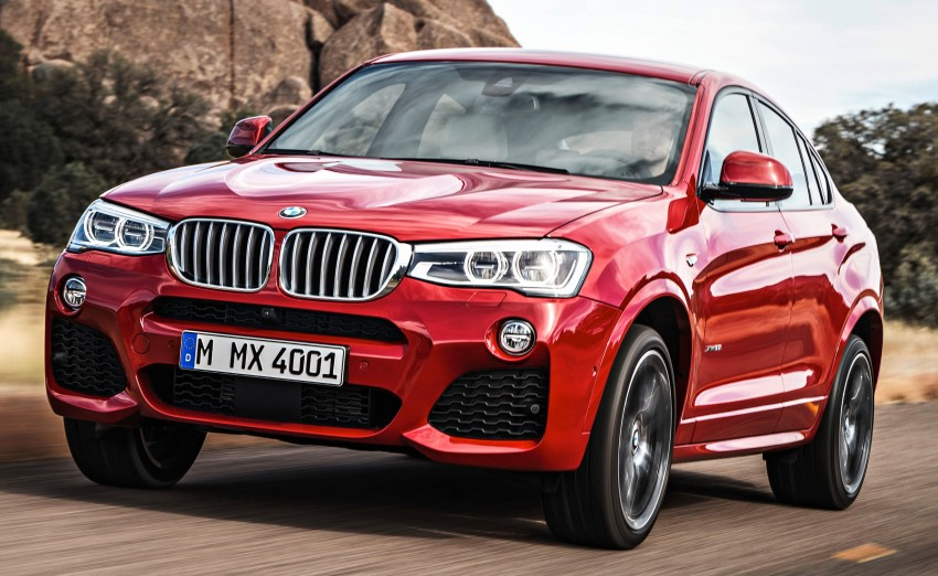 F26 BMW X4 unveiled – X3 gets the 'coupe' treatment Image #233673