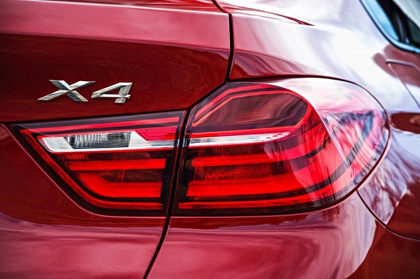 F26 BMW X4 unveiled – X3 gets the 'coupe' treatment Image #233676