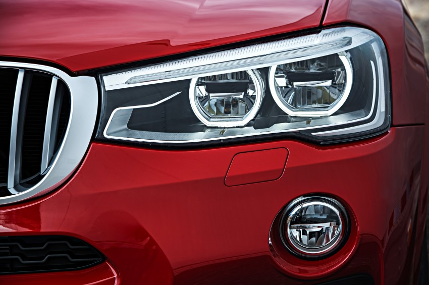 F26 BMW X4 unveiled – X3 gets the 'coupe' treatment Image #233677