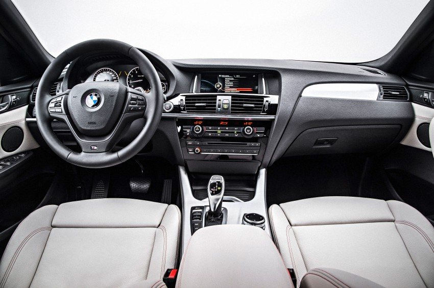 F26 BMW X4 unveiled – X3 gets the 'coupe' treatment Image #233685