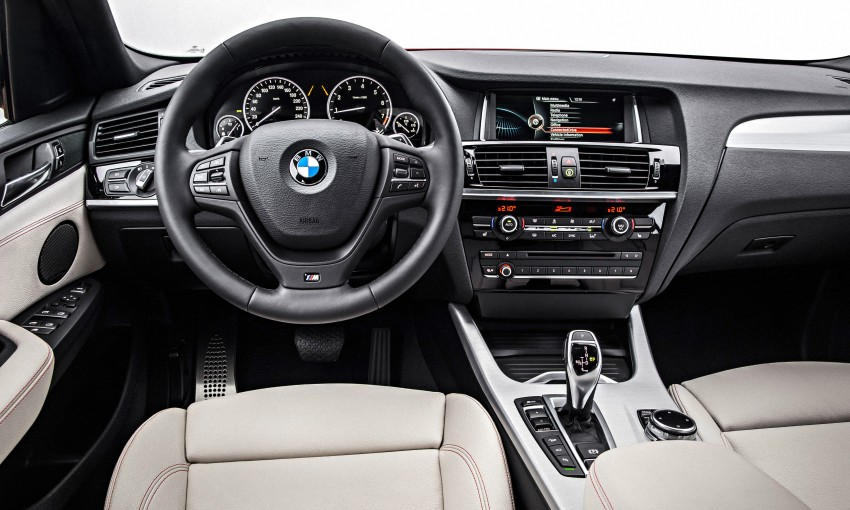 F26 BMW X4 unveiled – X3 gets the 'coupe' treatment Image #233686