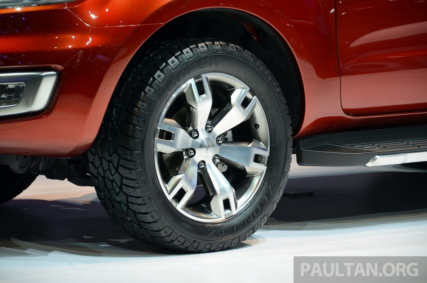 Ford Everest Concept unveiled at Bangkok Motor Show – production SUV will be built in Thailand Image #237035