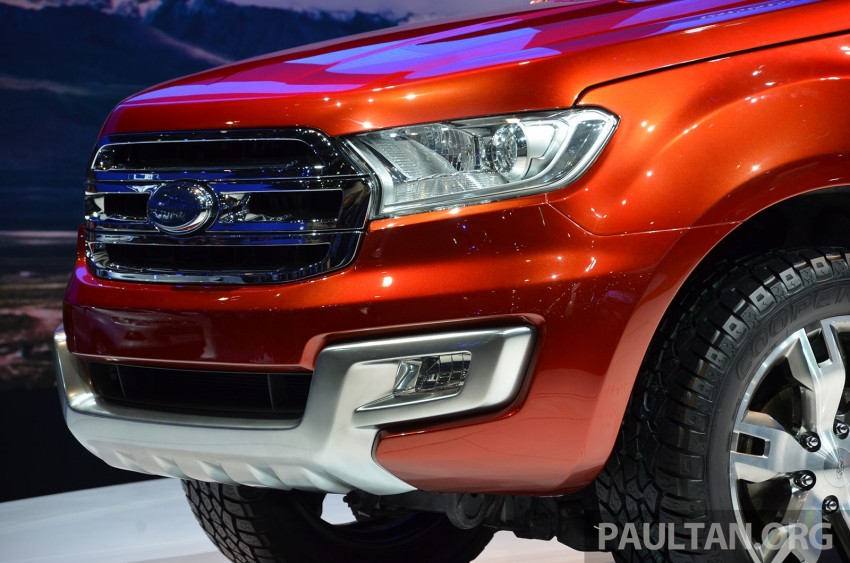 Ford Everest Concept unveiled at Bangkok Motor Show – production SUV will be built in Thailand Image #237039