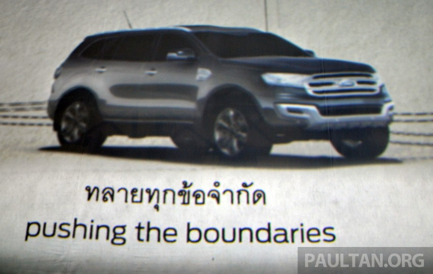 Ford Everest Concept unveiled at Bangkok Motor Show – production SUV will be built in Thailand Image #237041