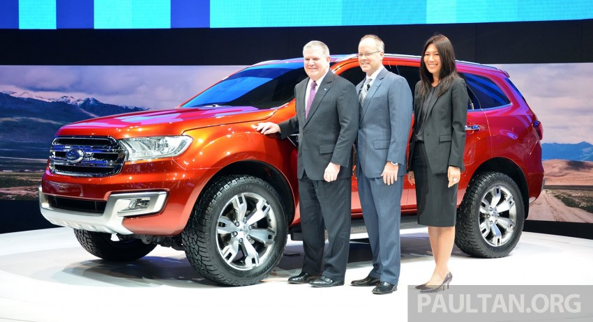 Ford Everest Concept unveiled at Bangkok Motor Show – production SUV will be built in Thailand Image #237042