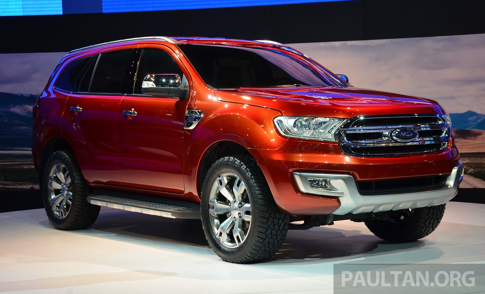 New Ford Everest 2014
