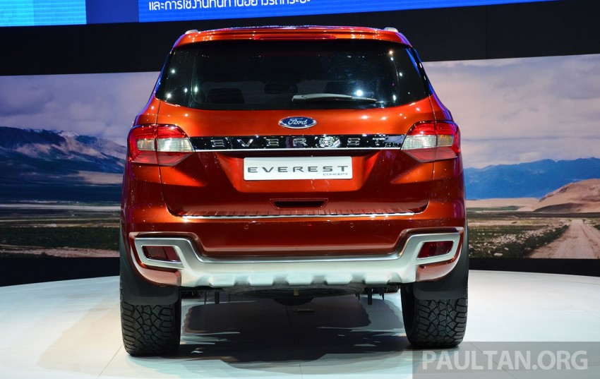 Ford Everest Concept unveiled at Bangkok Motor Show – production SUV will be built in Thailand Image #237026