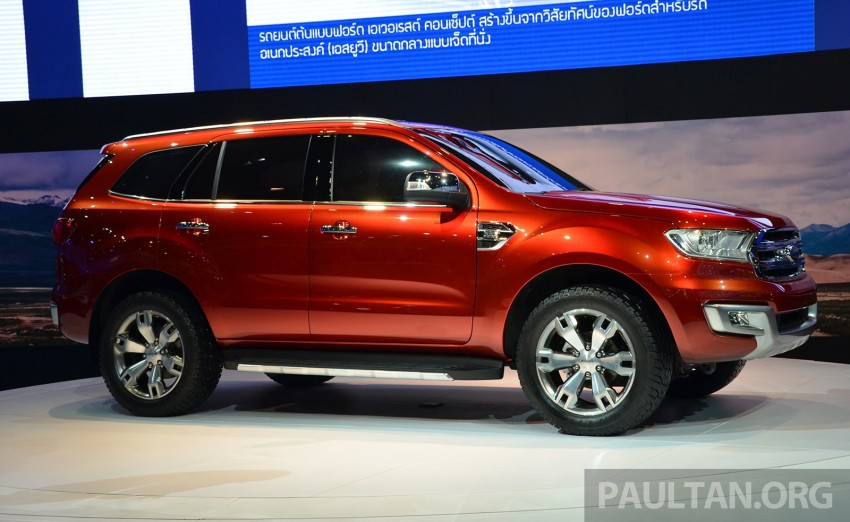 Ford Everest Concept unveiled at Bangkok Motor Show – production SUV will be built in Thailand Image #237028