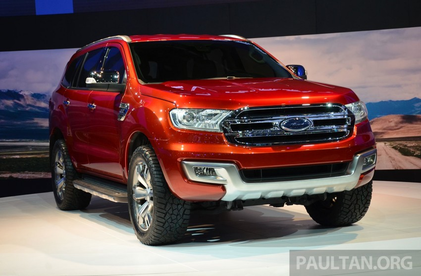 Ford Everest Concept unveiled at Bangkok Motor Show – production SUV will be built in Thailand Image #237030