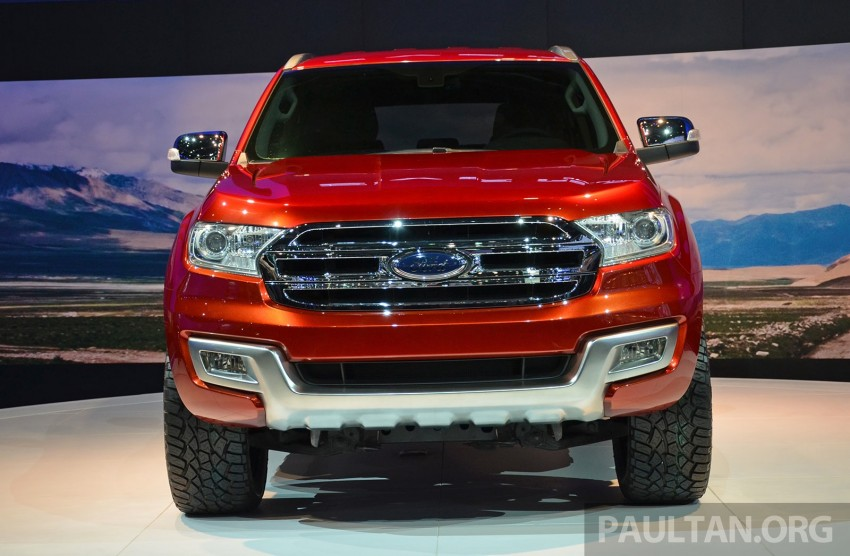 Ford Everest Concept unveiled at Bangkok Motor Show – production SUV will be built in Thailand Image #237032