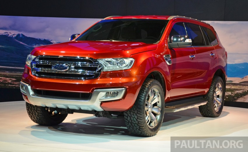 Ford Everest Concept unveiled at Bangkok Motor Show – production SUV will be built in Thailand Image #237033