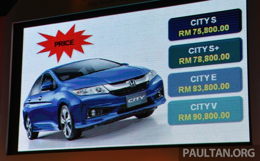 2014 Honda City launched in Malaysia, from RM76k Image #236289