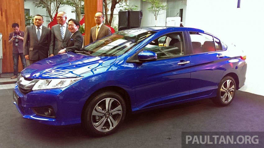 2014 Honda City launched in Malaysia, from RM76k Image #236290