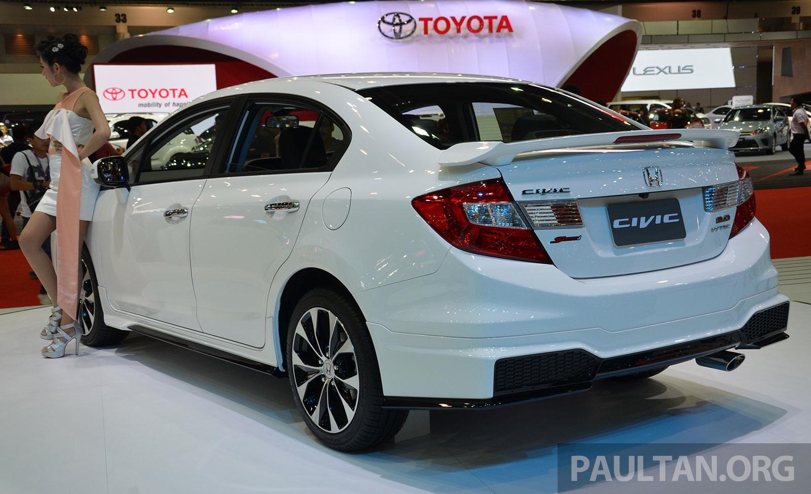 Bangkok 2014: Honda Civic MMC facelift, Thai-spec Image 237273